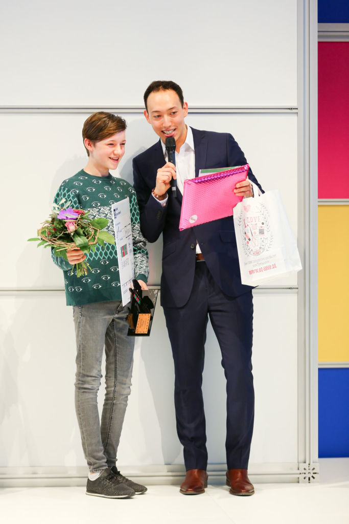 DORTEX Design-Award - Siegerehrung in der Kategorie Best Youngster 2017