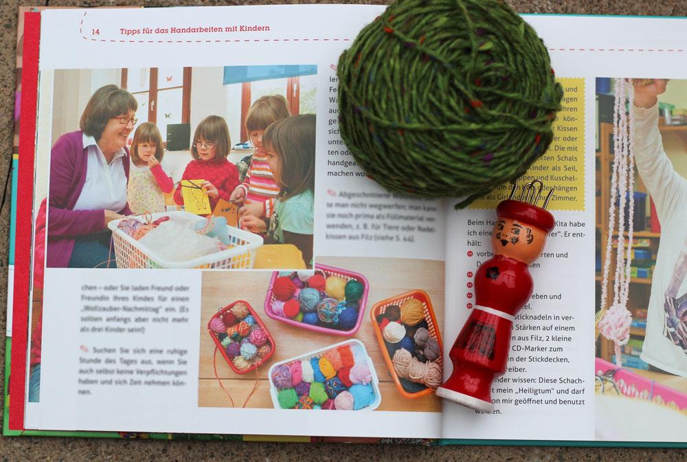Handarbeitsspaß mit Kindern - Brigitte Ettmann im Einsatz
