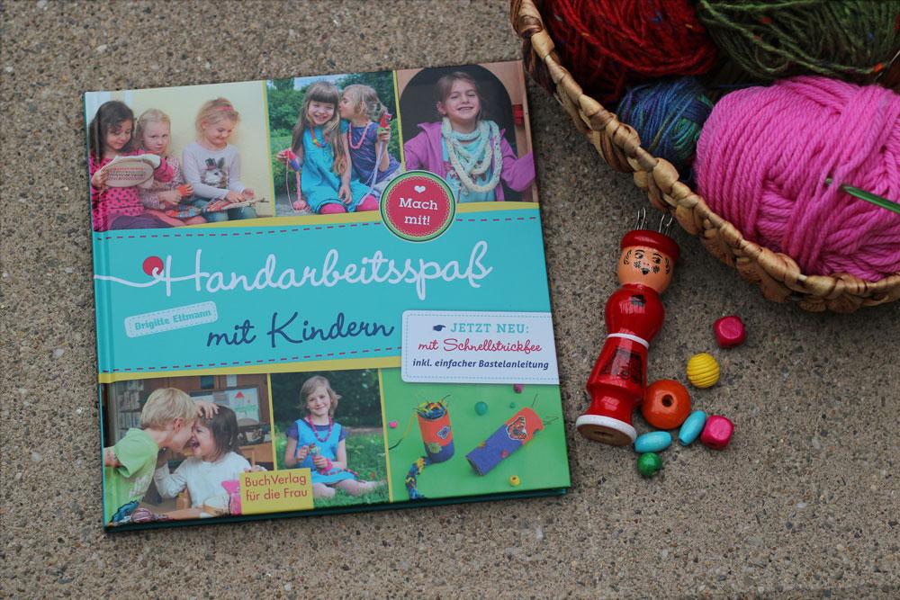 Handarbeitsspaß mit Kindern - Titelbild des Buches