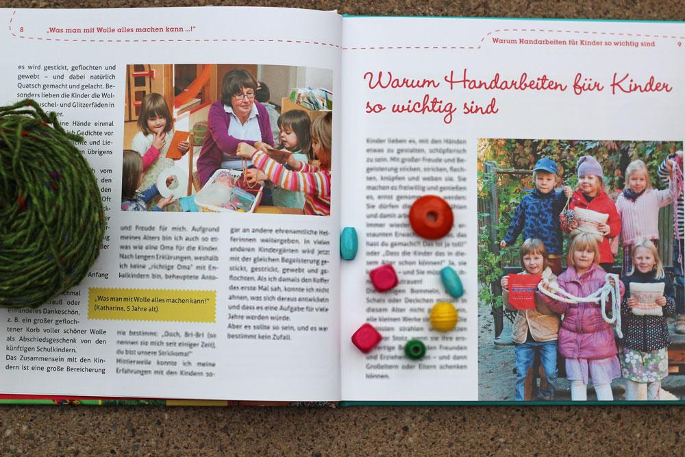 Buchbesprechung - Handarbeitsspaß mit Kindern - Brigitte Ettmann im Gespräch mit den Kindergartenkindern
