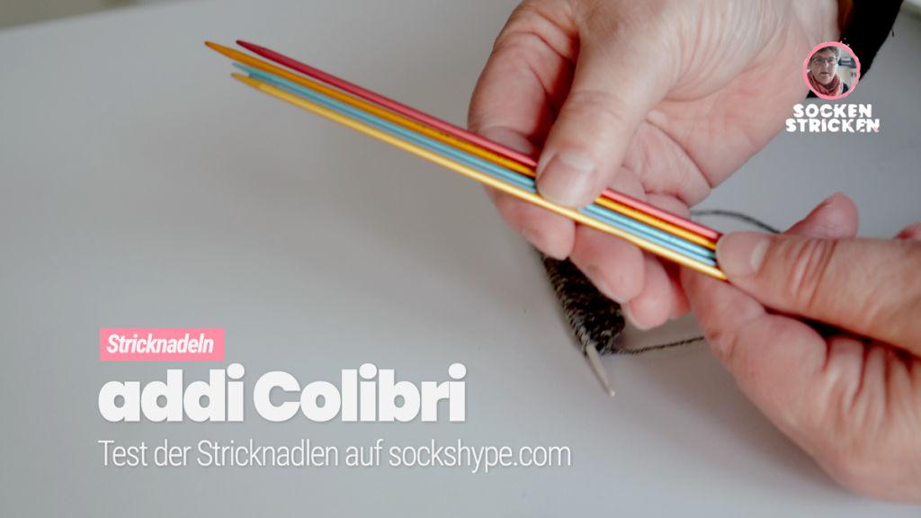 Stricken mit dem Nadelspiel: addiColibris im Test