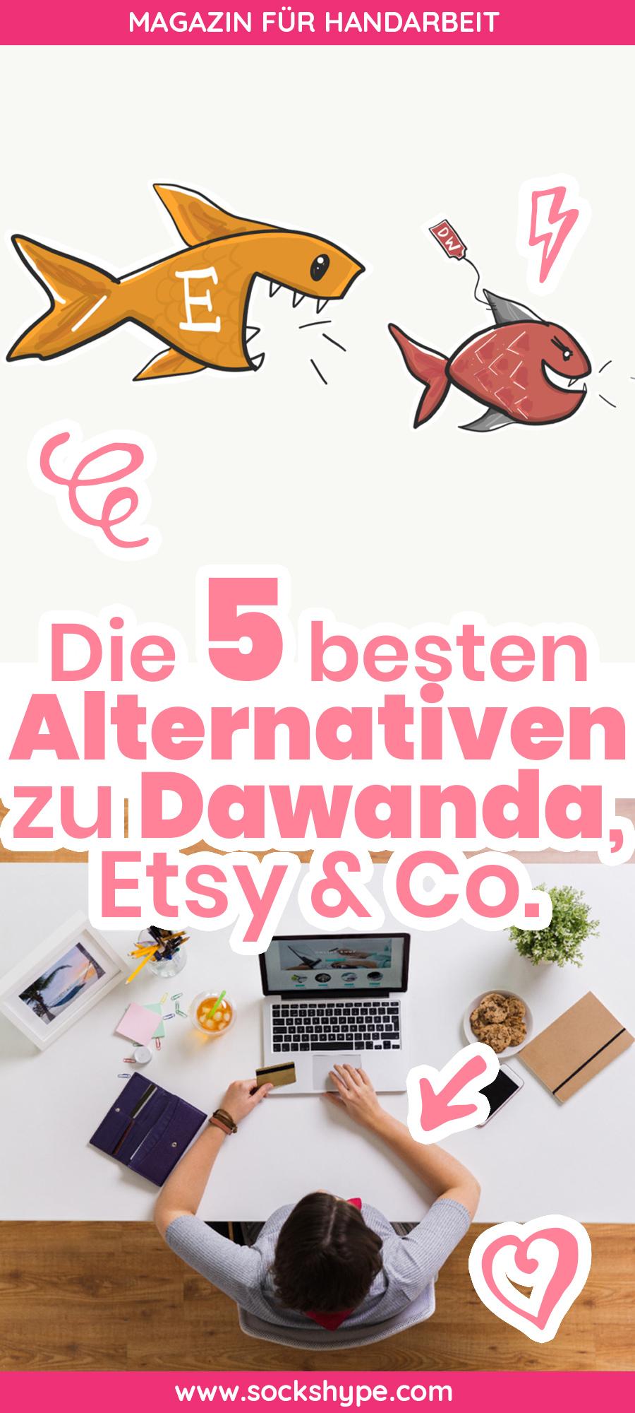 Die 5 Besten Alternativen Zu Dawanda Etsy Makerist Und Palundu