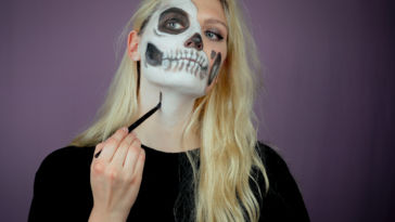 halloween make up DIY: Halloween Make up Tutorial