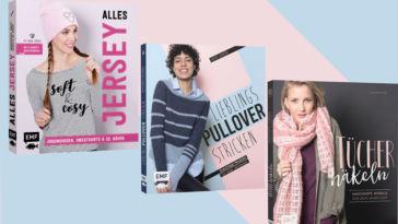 Edition Michael Fischer - drei Bücher zu gewinnen emf-verlag EMF-Verlag – Drei tolle Bücher für Näher, Stricker und Häkler