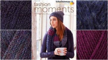 Adventskalender Gewinnspiel 2017 - Schachenmayr - Fashion Moments 025 mit mix&knit-Garnen schachenmayr Schachenmayr – Magazin plus Materialpaket für Mütze und Schal