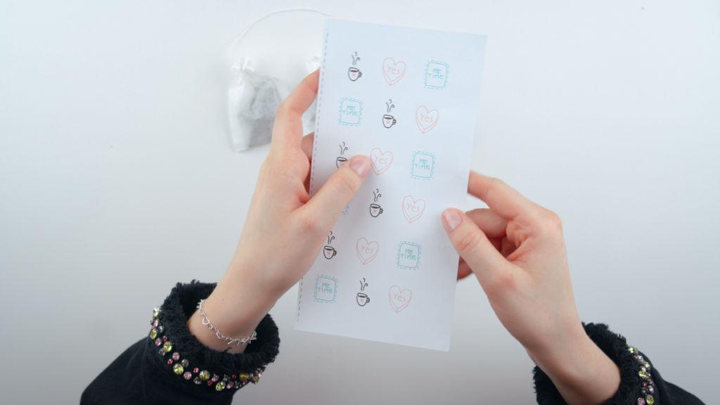 Freebie Grafiken als Exklusiv-Material für unsere Leser. teebeutel selber machen Teebeutel selber machen