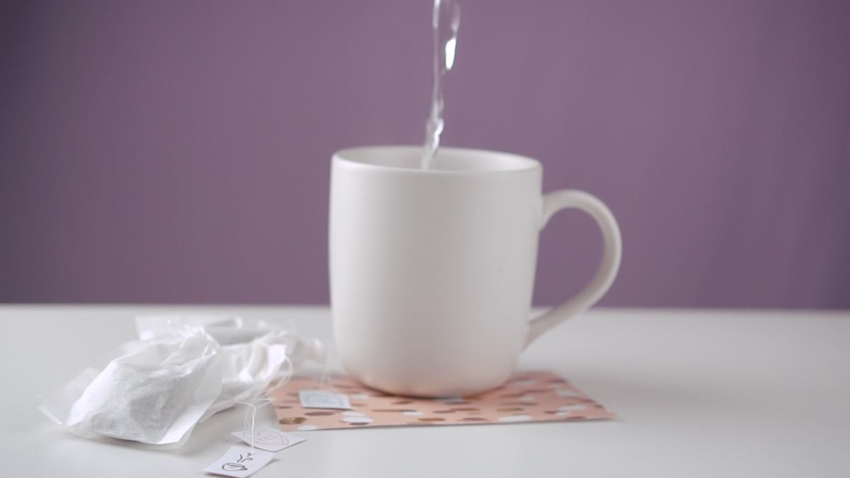 DIY Geschenkidee: Teebeutel selber machen