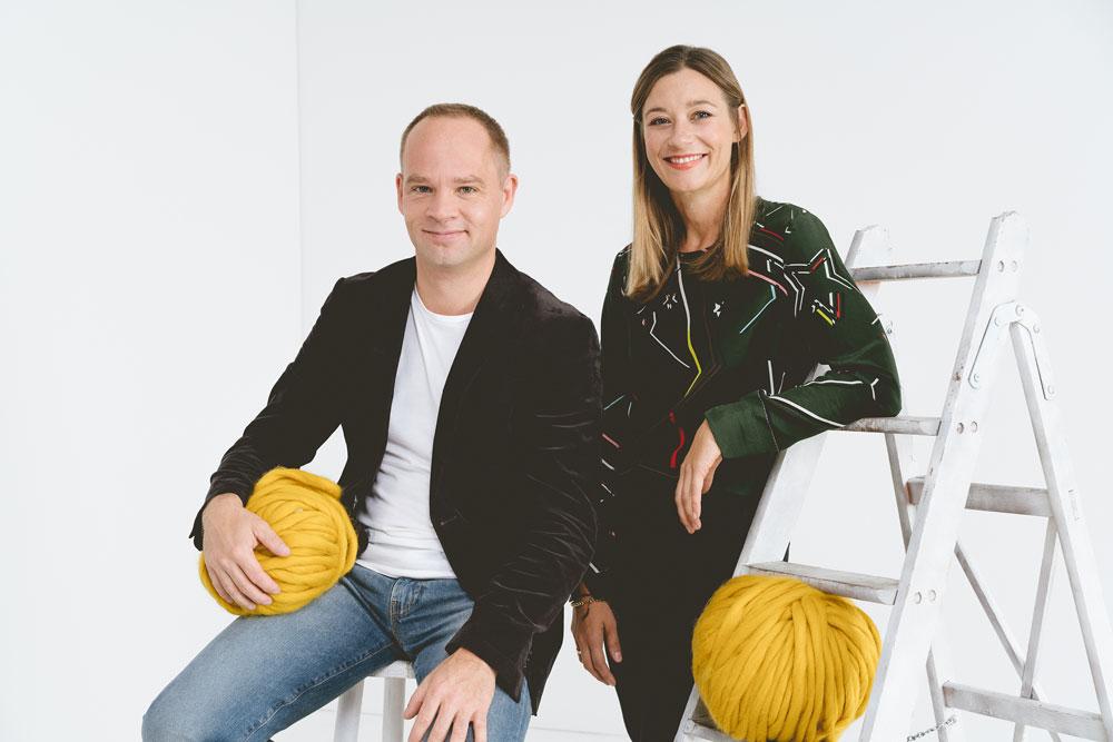 Axel Heinz und Amber Riedl die Gründer von Makerist makerist Amber Riedl – Gründerin von Makerist im Interview