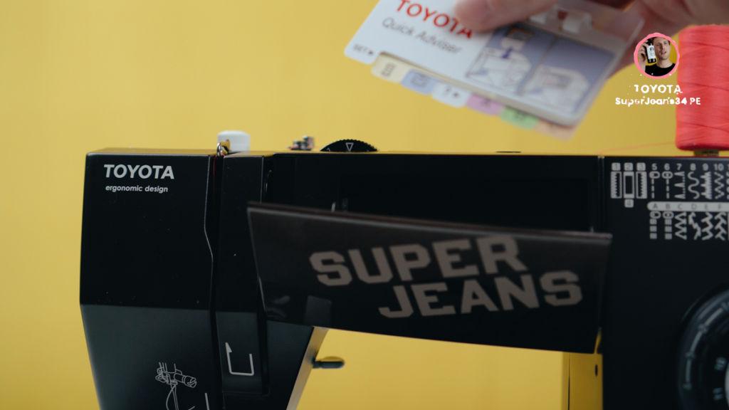 Anleitung der Nähmaschine Toyota SuperJ35PE Super Jeans