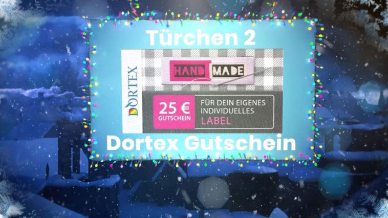 Adventskalender Gewinnspiel 2017 – Dortex Label Gutschein dortex DORTEX-Warengutschein für eigene Etiketten
