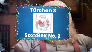Adventskalender Gewinnspiel 2017 – SoxxBox No. 2 by Stine (TOPP Verlag) soxxbox SoxxBox No. 2 vom TOPP-Verlag