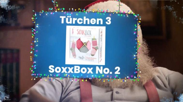 Adventskalender Gewinnspiel 2017 – SoxxBox No. 2 by Stine (TOPP Verlag)
