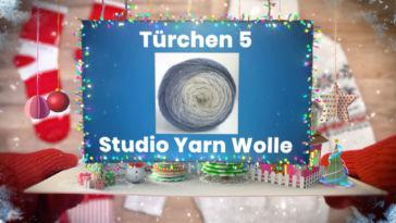 Adventskalender Gewinnspiel 2017: Studio Yarn Wolle