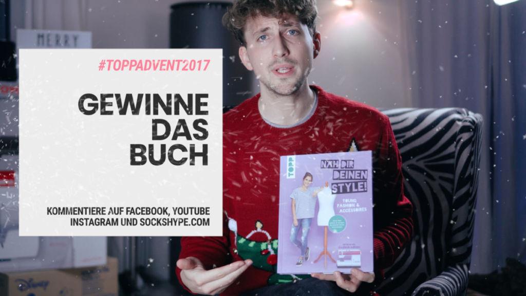 Adventskalender Gewinnspiel 2017: Verlosung des Buches  [object object] Der große TOPP Blogger-Adventskalender 2017 – Türchen Nr. 17