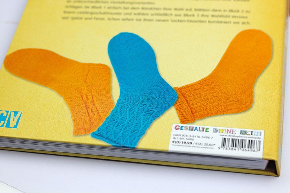 Der geniale Socken-Baukasten - Beispielsocken