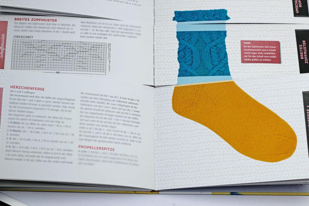 Der geniale Socken-Baukasten - Projekt ausgewählt