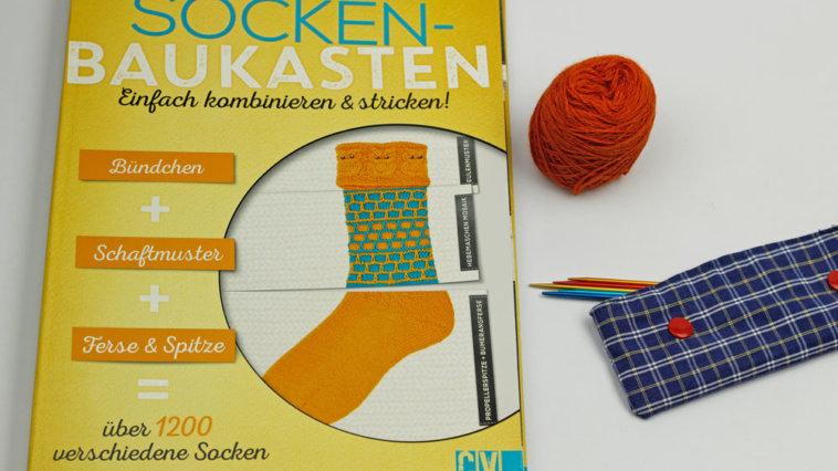 Der geniale Socken-Baukasten Titelbild der geniale socken-baukasten Der geniale Socken-Baukasten – eine Buchbesprechung