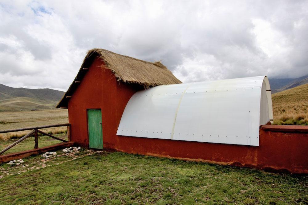 Pascuali filati naturali möchte solche Gewächshäuser bauen.
