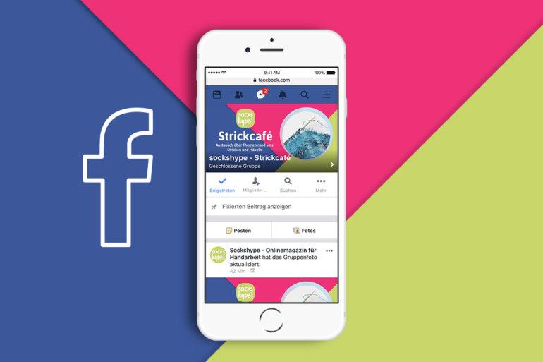 Facebook Gruppe - sockshype Strickcafé