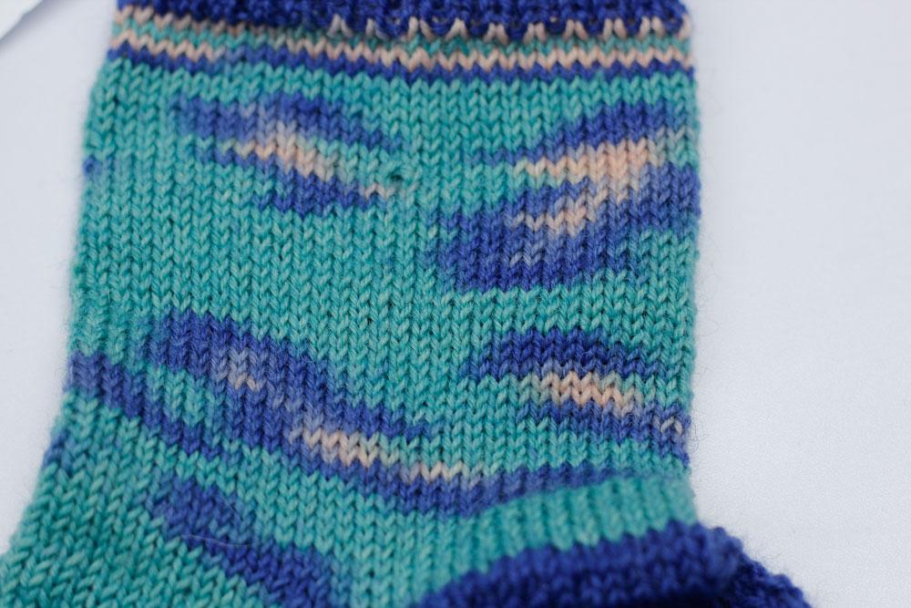 Kinda Magic Socks - einfach drauflosgestrickt