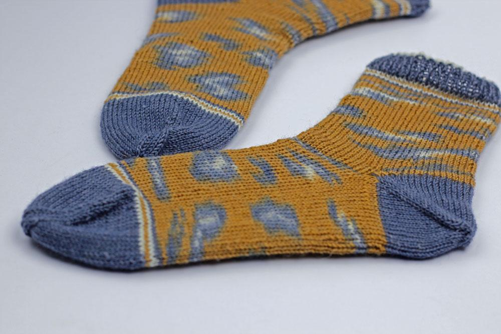 Kinda Magic Socks - Socken mit nachträglich eingestrickter Ferse