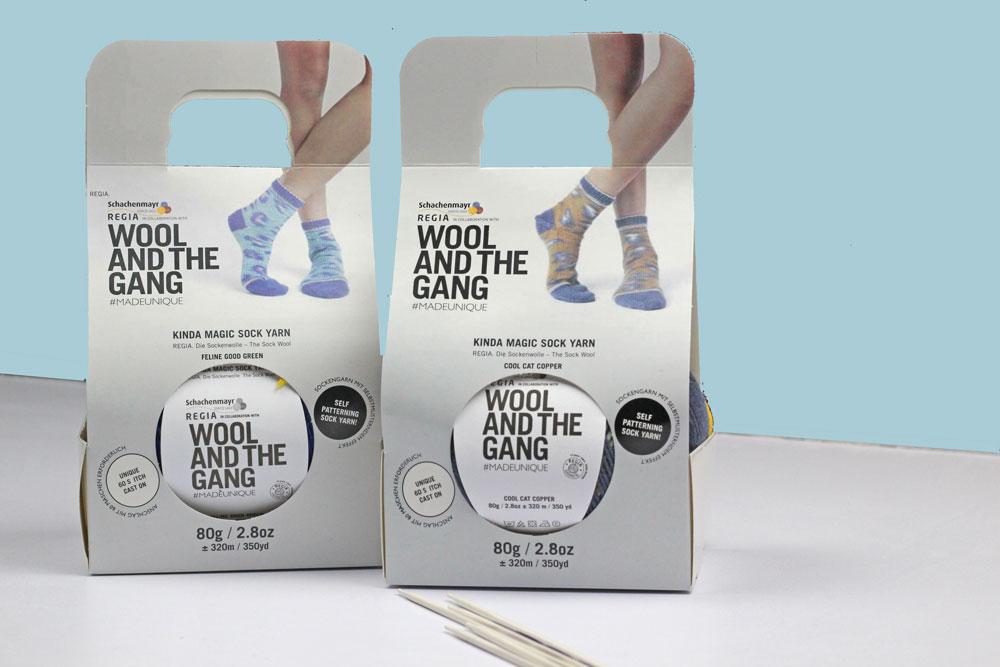 Kinda Magic Socks - Verpackung