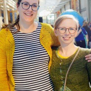 Frickelcast: Janine Binder & Stefanie Feierabend