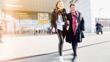 Barbara Angilowski, Kim Marit Warncke, h+h cologne 2018