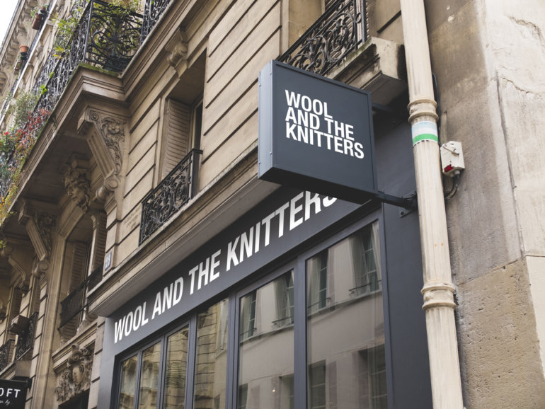 »WOOL AND THE KNITTERS« Wollgeschäft in Berlin