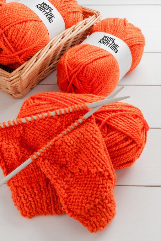»WOOL AND THE KNITTERS« Wolle: Dezent und qualitativ hochwertig