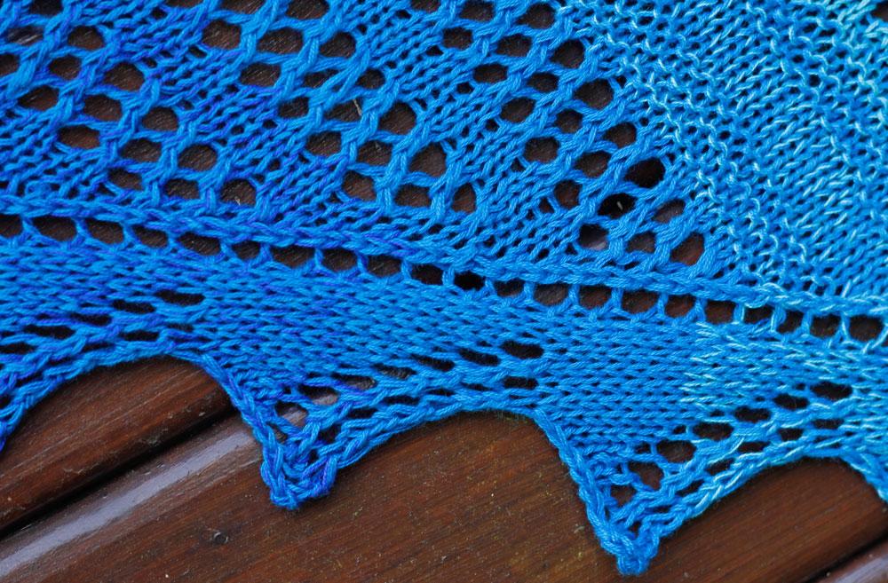 Dreieckstuch stricken - Spitzenkante [object object] Dreieckstuch stricken mit dekorativer Spitzenkante – Tuch Vicky