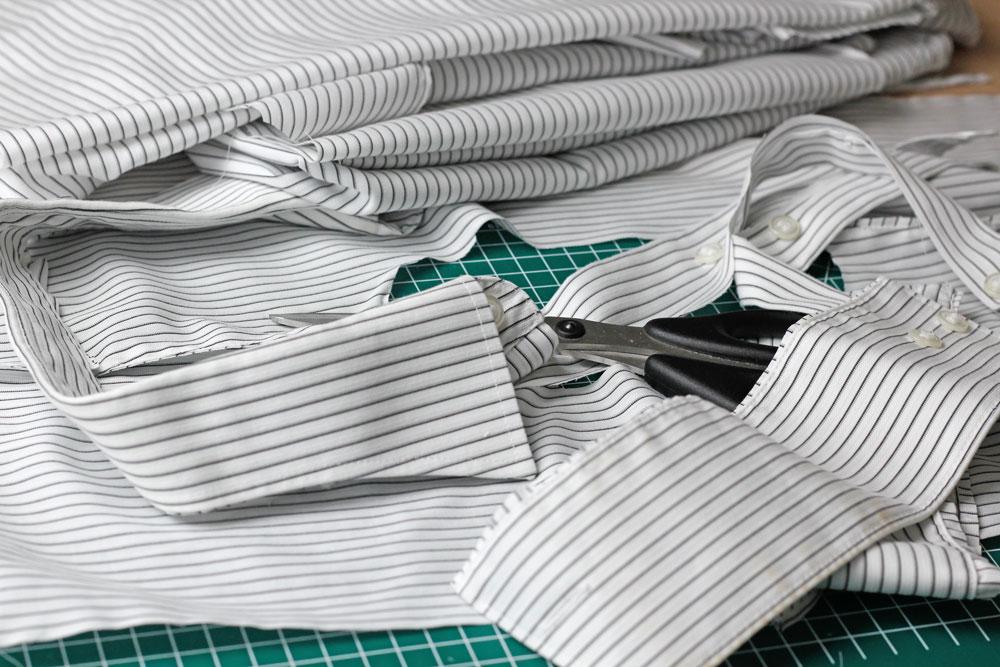 6 Köpfe 12 Blöcke - Der Quiltalong 2018 - Ich möchte ausrangierte Hemden nutzen.