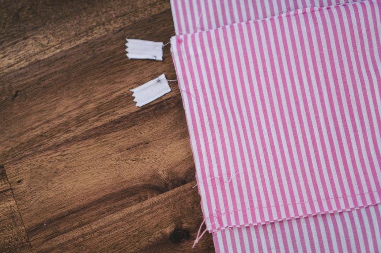 Taschenbeutel der Bauchtasche nähen