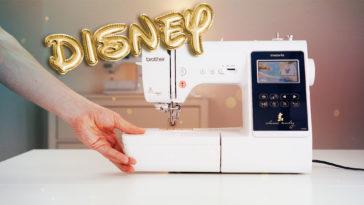 Stickmaschine für Anfänger [object object] Näh und Stickmaschine für Anfänger? Die Brother Innov-is M280D (Disney® Edition)