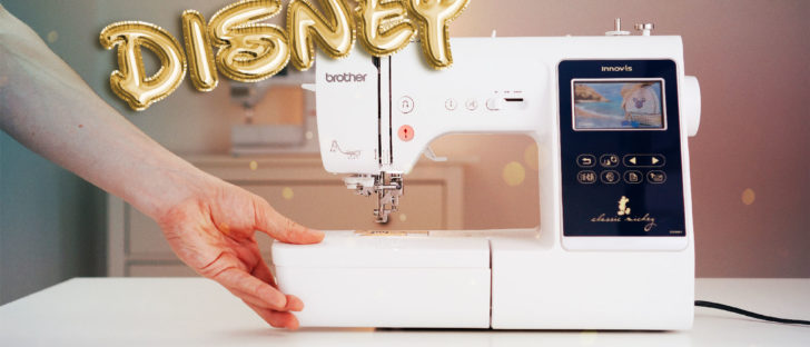 Stickmaschine für Anfänger [object object] Näh und Stickmaschine für Anfänger? Die Brother Innov-is M280D (Disney® Edition)  Top10