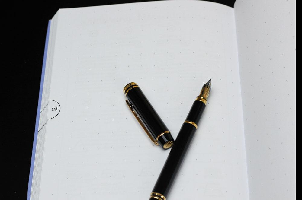 Mein Bullet Diary - Reichlich Platz für eigene Ideen findest du auf den Blankoseiten.