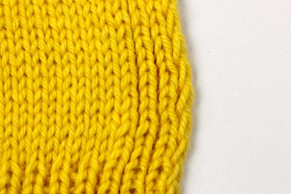 Pullunder stricken: Randmaschen
