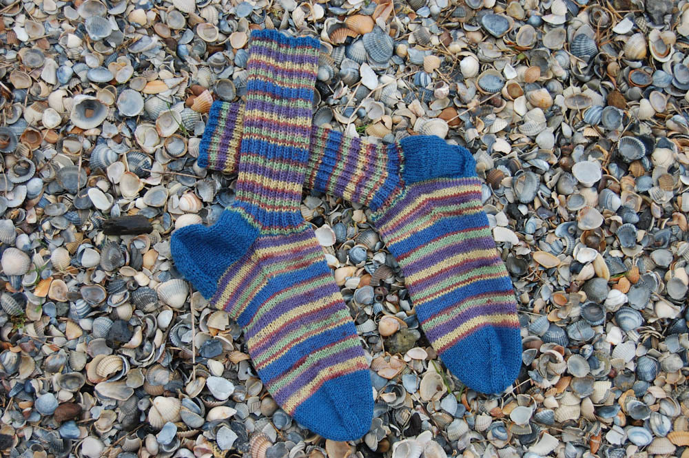 Strickanleitung Socken Stricken Warm Colorful Pdf Sockshype