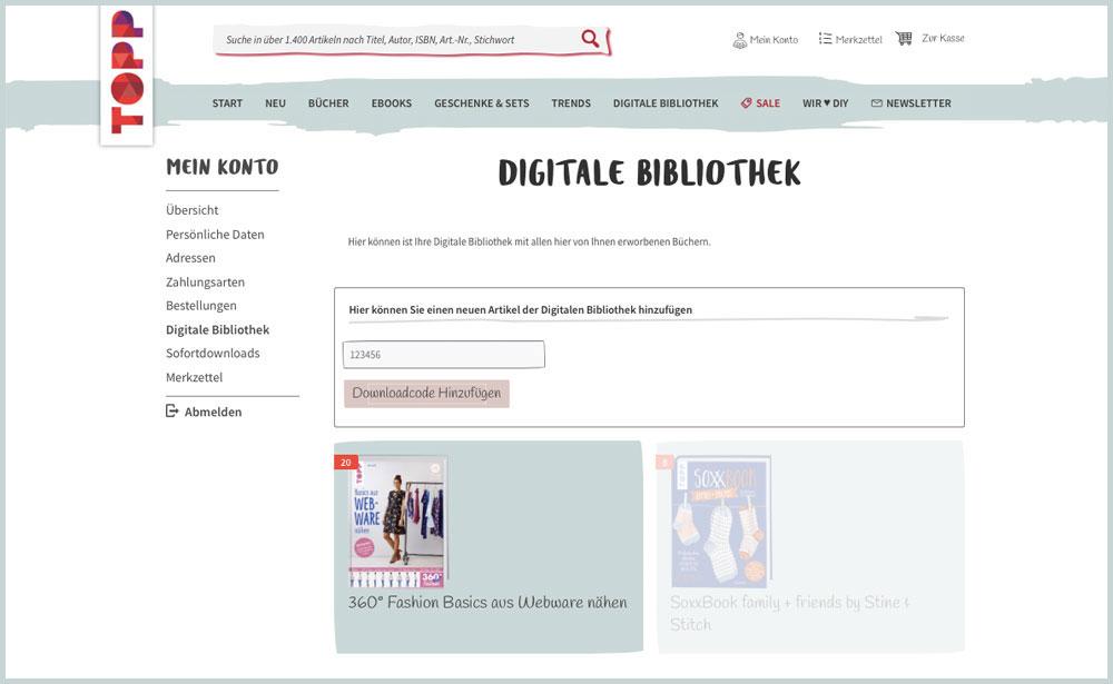 Basics aus Webware nähen - 360°-Fashion Ansicht im Internet