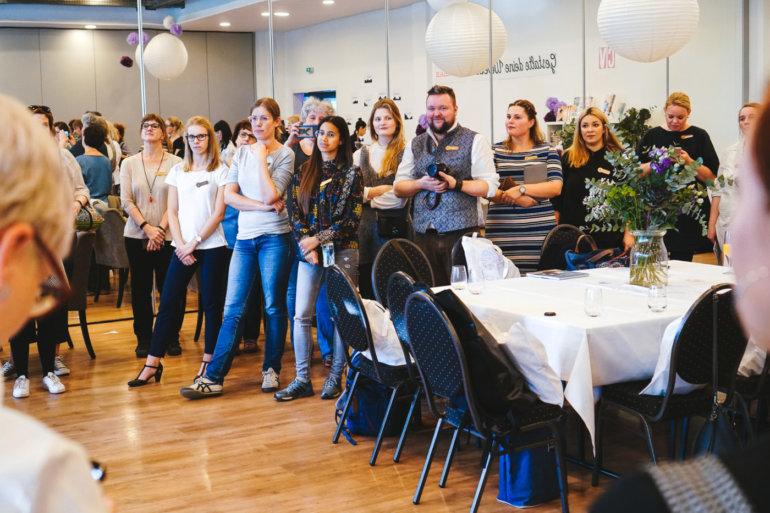 Blogger auf dem Tag der Wolle 2018 vom OZ Verlag in Freiburg