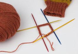 Runde stricken - Titelbild