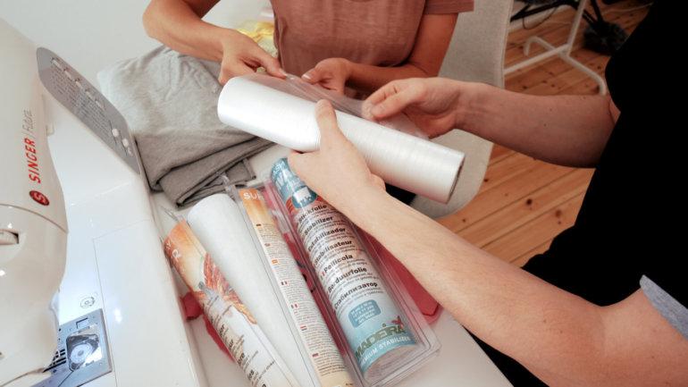 Probleme mit der Stickmaschine: Stickfolie auswaschbar