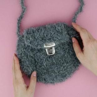 Häkelanleitung Handtasche »WINTER PARK«