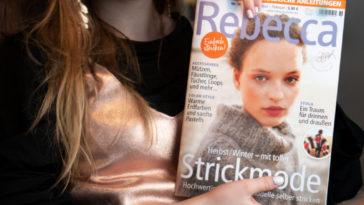 Strickzeitschrift / Strickmagazin »Rebecca«