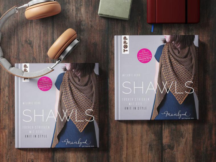 »SHAWLS«, das erste Buch von Melanie Berg