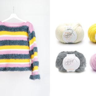 Pullover »LOVELAND« mit Wollpaket