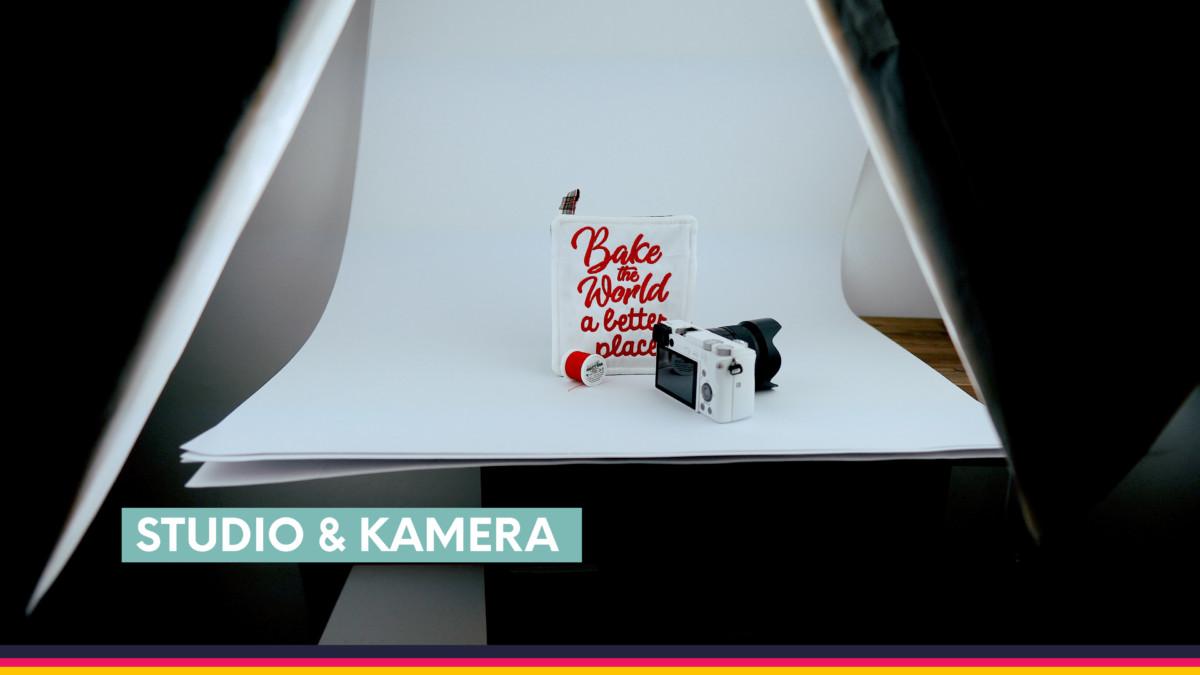 Produkte fotografieren: Weißer Hintergrund durch eine einfache Hohlkehle