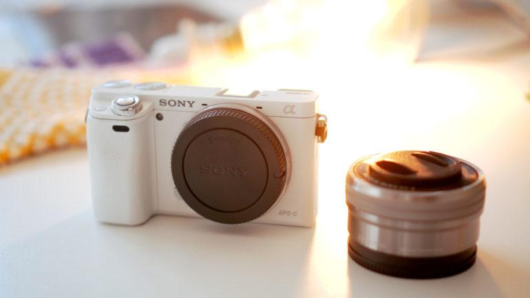 Produkte fotografieren: Neben anderen Tipps empfehle ich die Sony a6000