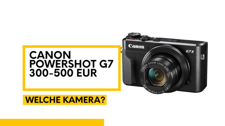 Produkte fotografieren mit einer Kompaktkamera (Canon PowerShot)