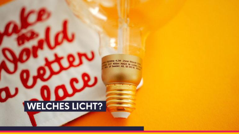 Produkte fotografieren: Beleuchtung Schreibtischlampe oder Softbox?